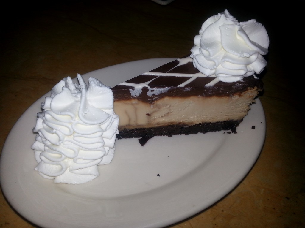 Mocha Cheesecake from the Cheesecake Factory.