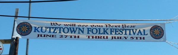 Already planning the dates of 2015 Kutztown Folk Festival