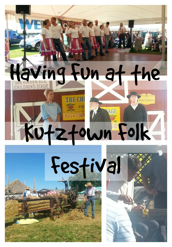 Demostrations at the Kutztown Folk Festival