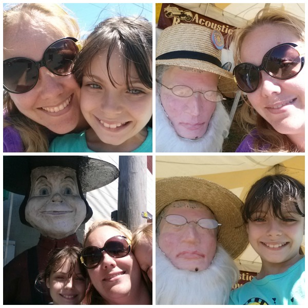Selfies at the Kutztown Folk Festival