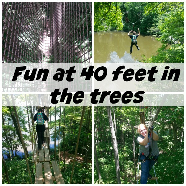 Ziplining- Fun at 40 Feet in the Trees