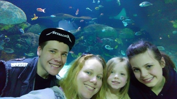 Exploring the fish tunnel- Virginia Beach Vacation ideas