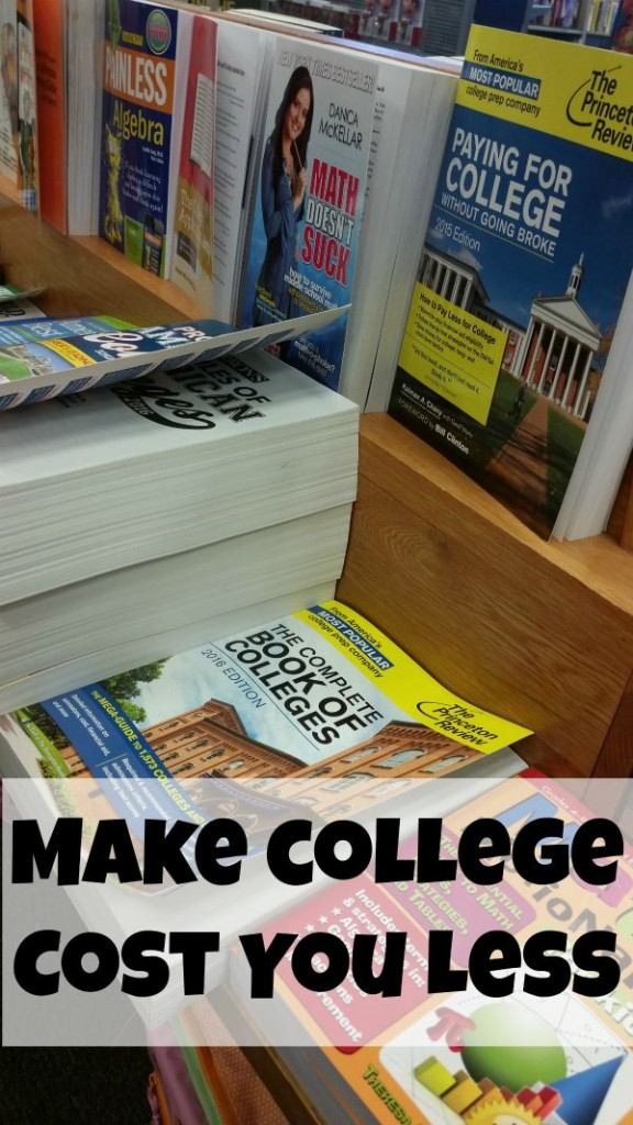Make college Cost You Less