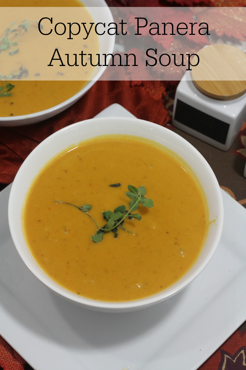 Love Panera Autumn Soup, but can't go out to eat? Try this copycat recipe for Autumn soup.