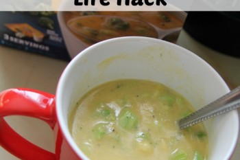 My Simple Lunch Time Life Hack – Progresso Soup Bistro Cups