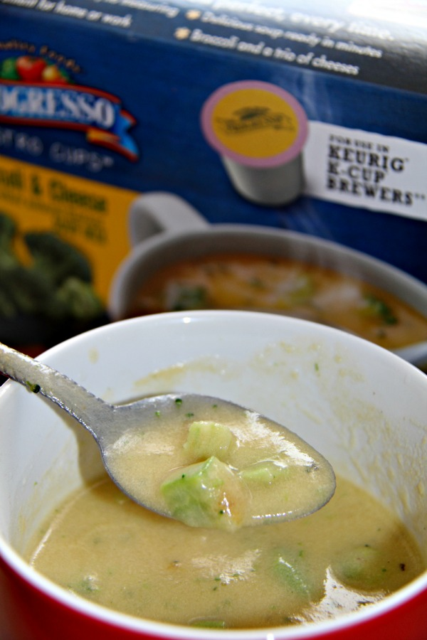My Simple Lunch Time Life Hack - Progresso Soup Bistro Cups- soup