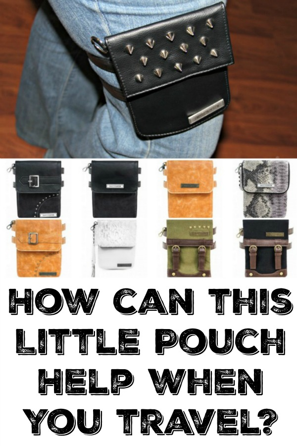 smartergarter pouches can hep when you travel or for a night out