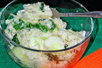 Colcannon- Irish Potato Salad