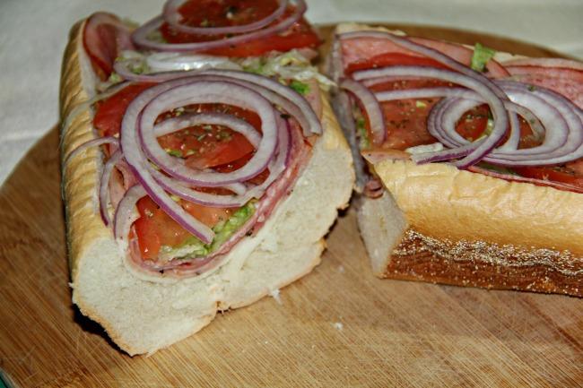 Italian Hoagie, Italian Sandwich, Italian Sub