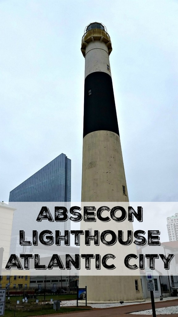 The Absecon Lighthouse in Atlantic City, New Jersey