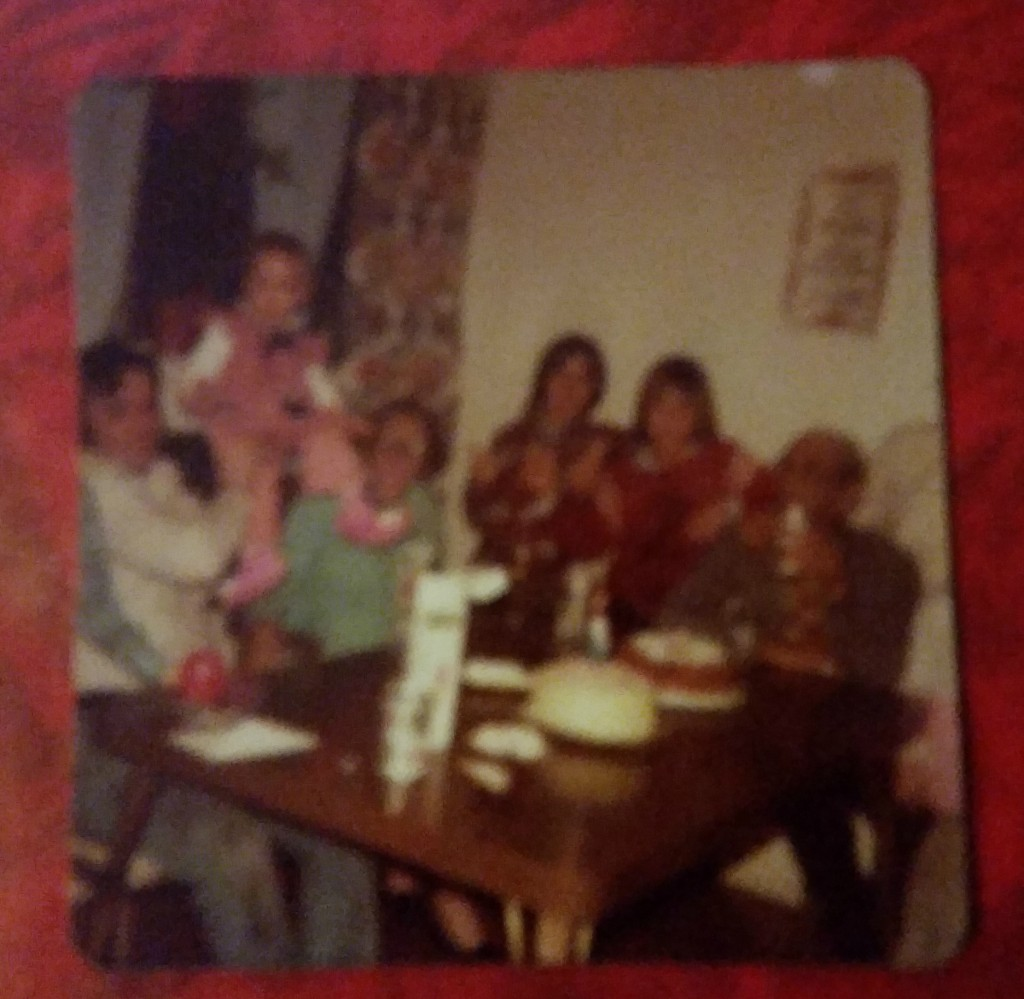 throwback of family time