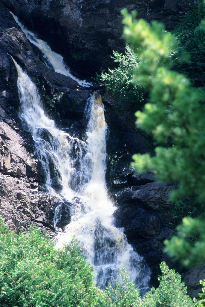 Big Manitou Falls, Beautiful waterfalls in Wisconsin