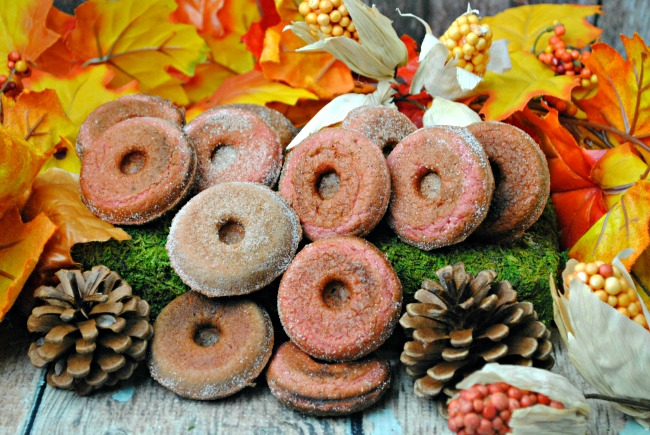 These donuts are a delicious twist on an apple recipe. Using Apple Cider, the taste of these Apple Cider donuts is amazing.