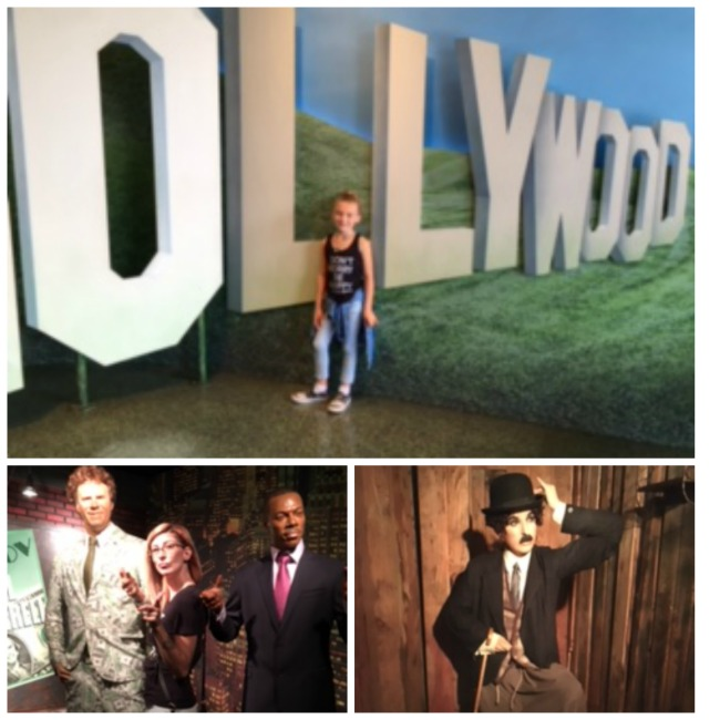 Hollywood Wax Museum in Southern California is a must see for any movie lover. So realistic that you might jump away from the horror figures.