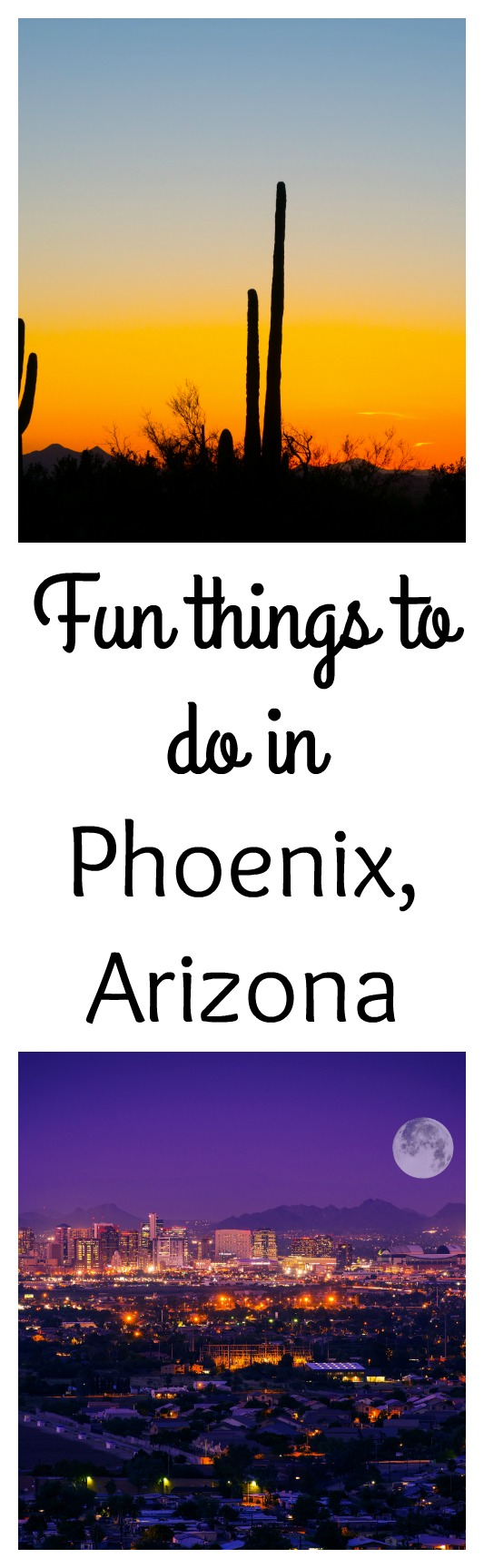 Are you looking for things to do in Phoenix, Arizona? Arizona is so much more than heat and desert. Here is a list of fun things to do in Phoenix, Arizona