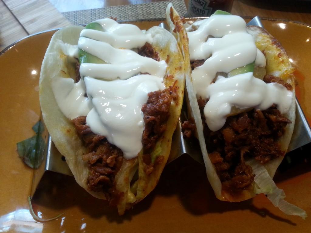 Pork tacos from Tamo
