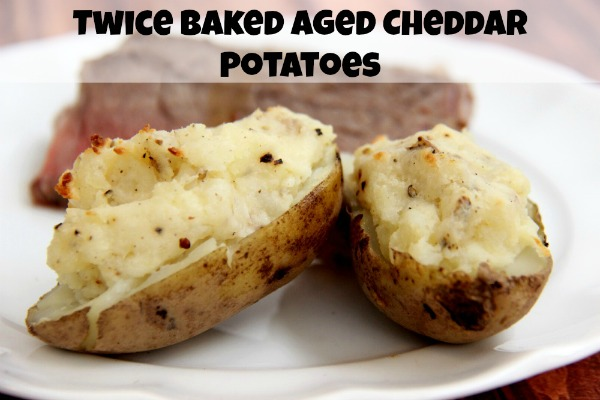 Try this twice baked aged cheddar potatoes recipe if you are looking for a simple recipe that can be used for all occasions Twice Baked Potatoes Recipe