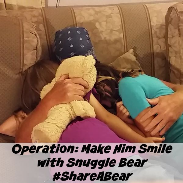 Operation Make Him Smile with #ShareABear