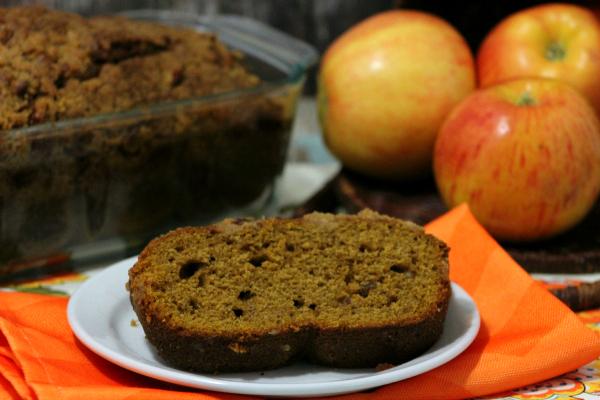 Caramel apple bread 3-2