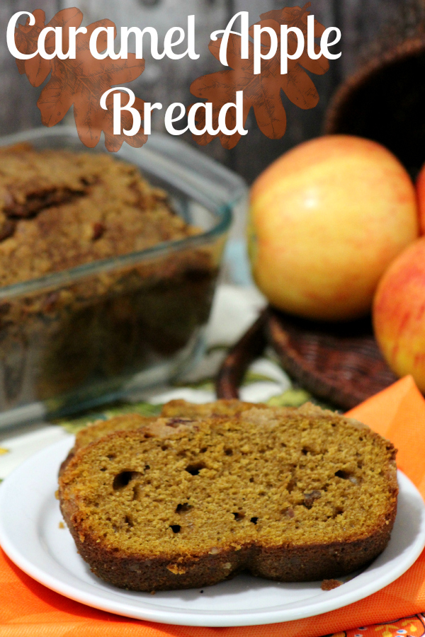 Looking for a different twist on Fall breads? Try this caramel apple bread recipe. It will be too good for words. It will be a great fall recipe.