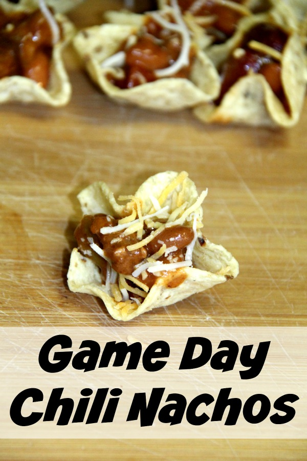 Looking for a simple game day recipe? Chili Nachos couldn't get easier.