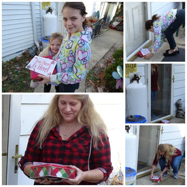 delivering cookies