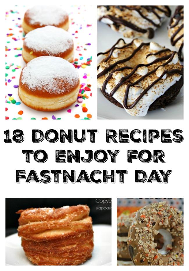 18 Donut Recipes to Enjoy for Fastnacht Day