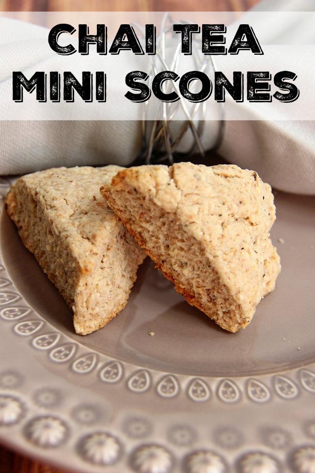 Chai Tea Scone Recipe